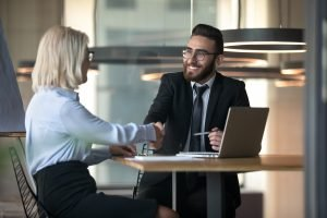 Job age discrimination: HR manager hiring a mature aged woman