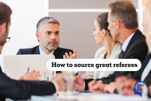 Personal referees; office meeting