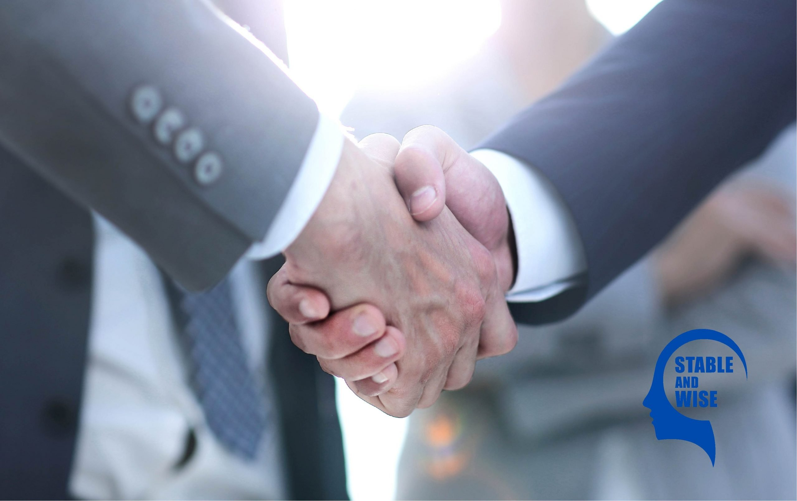 Career connection: Mature Aged Workers shaking hands